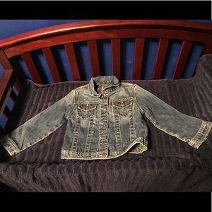 Gap Dark Wash Jean Jacket. Girls size 5